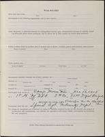 World War I Service Record for Albert Asa Houck, p. 3