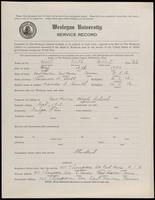 02.002.020 World War I Service Record for Keith Gilbert Holt