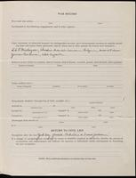 World War I Service Record for Archibald Clinton Harte, p. 3