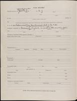 World War I Service Record for Archibald Clinton Harte, p. 2