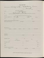 World War I Service Record for LeRoy Frederick Heidenreich, p. 2