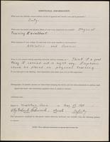 World War I Service Record for LeRoy Frederick Heidenreich, p. 4