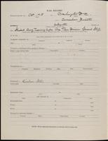 World War I Service Record for Alexander James Inglis, p. 2