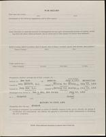 World War I Service Record for Eugene Howard Jeffrey, p. 3