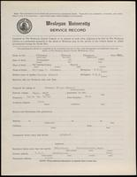 02.004.016 World War I Service Record for Elwood Simpson Johnson