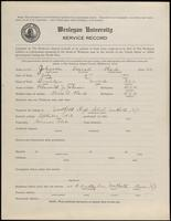 02.004.013 World War I Service Record for Conrad Clarke Johnson