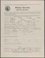 02.004.020 World War I Service Record for Henry Lawrence Jones
