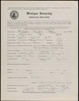 02.005.004 World War I Service Record for Franklin Patton Kellom