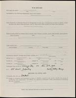 World War I Service Record for Foster Macy Johnson, p. 3