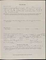 World War I Service Record for Vincent Weaver Jones, p. 3