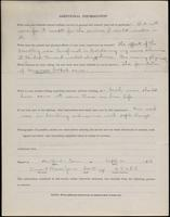 World War I Service Record for Vincent Weaver Jones, p. 4