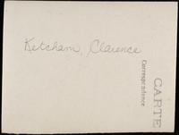 World War I Service Record for Clarence Ketcham, p. 6