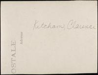 World War I Service Record for Clarence Ketcham, p. 10