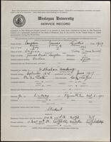 02.006.002 World War I service record for James Cordis Langdon