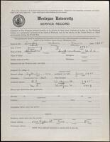02.006.003 World War I service record for Wilson Davis Langley