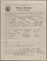 02.006.007 World War I service record for Howard Seavoy Leach