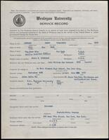 02.006.012 World War I service record for Henry Virginius Leonard