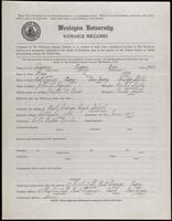 02.006.013 World War I service record for Eugene Barr Lequin