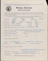 02.006.028 World War I service record for Roland Louis Luerich