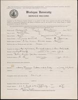 01.002.009 World War I service record for Fred Bingham Barrows