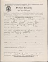 01.002.011 World War I service record for Jonathan Potteiger Batdorf