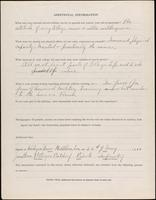 World War I service record for Jonathan Potteiger Batdorf, p. 4