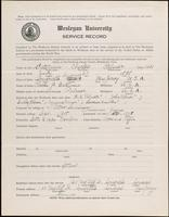 01.002.012 World War I service record for Charles Palmer Bateman