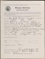 02.008.003 World War I service record for Lawrence Bradford Neeld