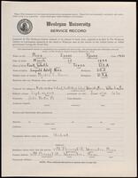 02.008.008 World War I service record for Isaac Rouse Nies