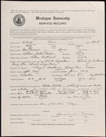 02.008.010 World War I service record for Paul Nixon