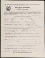 02.008.014 World War I service record for Eric McCoy North