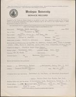 01.002.014 World War I service record for Frank Lawrence Beattys