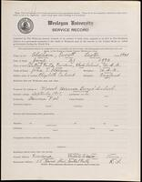 02.009.002 World War I service record for Everett Lester Oldham