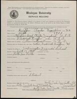02.005.015 World War I service record for Charles Franklin Kniffen