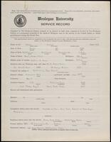 02.005.021 World War I service record for Austin Kuhns