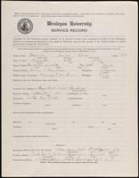 02.007.003 World War I service record for James Bliss MacLean
