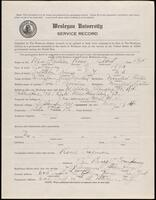 02.007.004 World War I service record for Ross Albert MacMullen