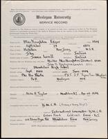 02.007.005 World War I service record for Edgar MacNaughten
