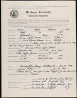 02.007.022 World War I service record for Ralph Edward Martin