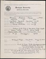 02.007.027 World War I service record for Frederic Louis Maxine