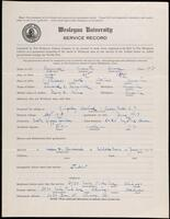 02.007.028 World War I service record for Augustus Moore Maxwell