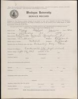 02.007.029 World War I service record for Arthur James May