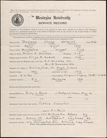 01.002.017 World War I service record for George Whitfield Beeman