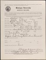 02.007.035 World War I service record for Charles McDonald