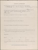 World War I service record for John Randolph Belcher, p. 4