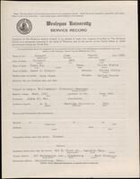 02.007.060 World War I service record for John Harold Morgart