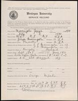 02.007.061 World War I service record for Joseph Morningstar