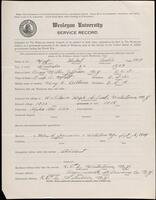 02.007.066 World War I service record for Hubert Leslie Mott