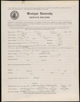 02.007.068 World War I service record for Harold Howe Munroe