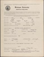 01.001.010  World War I service record for Ames Scribner Albro